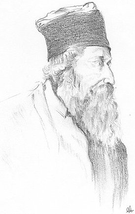 Pencil sketch of Tagore   Rabindranath Tagore Sketch Picture